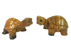 Wooden Pair Of Animals - Pair of Tortoises