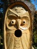 Wooden Bird House Nest Box - Owl