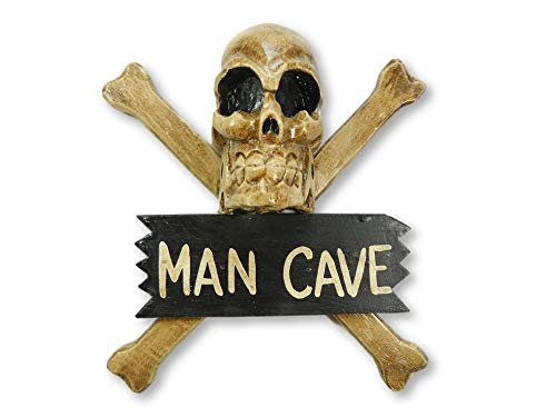 Pirate Skull And Crossbone Hanging Keep Out Sign - Man Cave