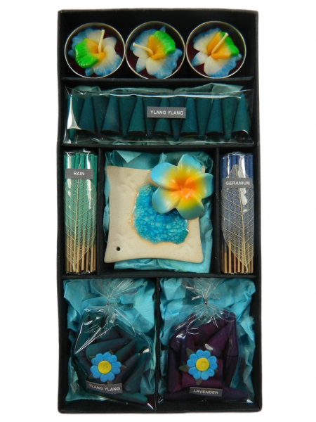 Incense Gift Set - Blue