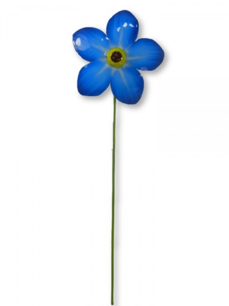 Metal Forget Me Not - Single Flower
