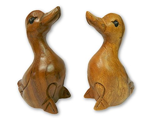 Wooden Pair Of Animals - Pair of Ducklings