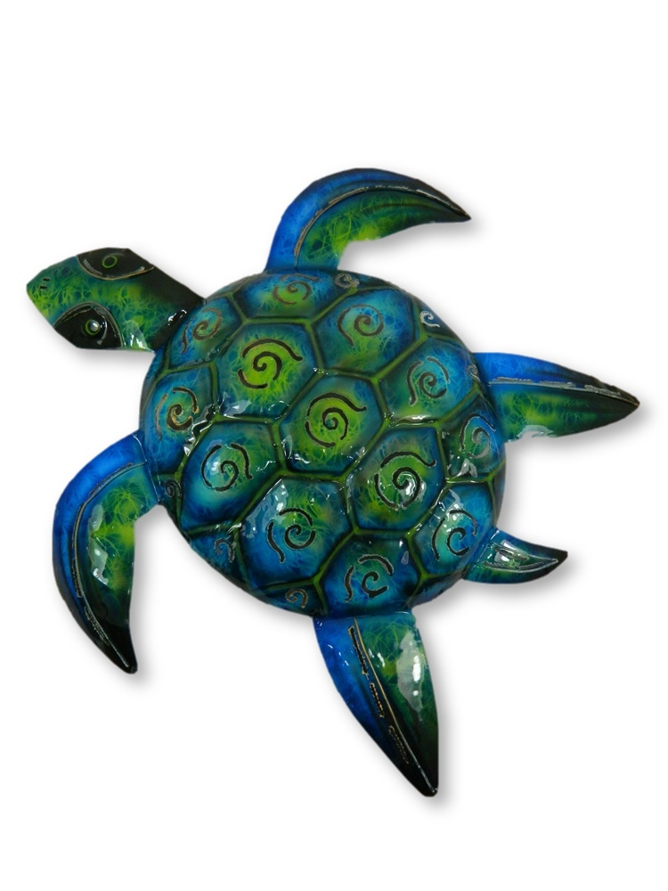 Metal Wall Art Sealife - Turtle